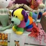 Cute HANDMADE, machine washable kids toys