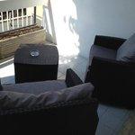 terrazzo della camera The Pianist