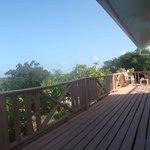 La terrazza del Coral Gardens