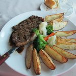Steak and Roasted Potatoes..Delicous!