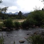 Big Thompson River from Cabin #4 in Tiny Town, Estes Park