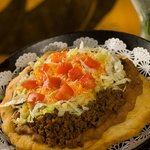 Our most popular item, Hualapai Taco