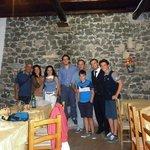 foto di gruppo con Alessandro e Salvatore