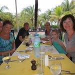Wonderful family dinner @ Firefly restaurant. Great setting!