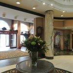entrée principale de l hotel