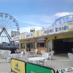 The boardwalk has fun, food, movies