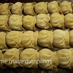 home made dumplings everytime