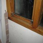 Defeito na vedação da janela
