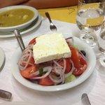 Greek kitchen in taverna