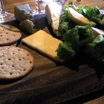 Cheese and biscuits - £6.25