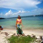 daughter at beach