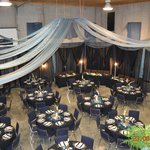 Shop transformed into Banquet Hall