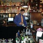 Wonderfully attentive bartender.
