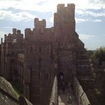 Arundel Castle - taken from The Keep