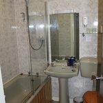 Avocado Bathroom Fixtures - dated but functional