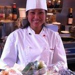 la cuisinière du restaurant thaï