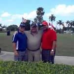 My sons and I at Doral