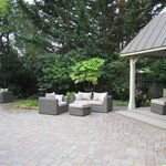 Lovely patio for lounging