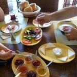 Breakfast at Hotel Angel Saadet