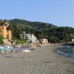 Hit the beach of Levanto in the late evening for a beautiful view practically nobody around. Pac