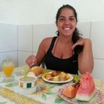 The great Breakfast Ludrinha make!!