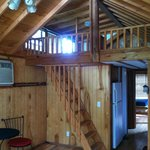 loft of our cabin