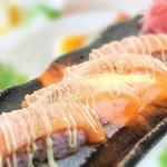 Aburi Salmon Nigiri Sushi