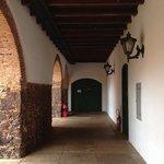 Corredor do Convento das Mercês.