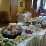 Ausgezeichnetes Frühstücksbuffet