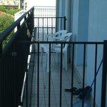 Balcone ampio