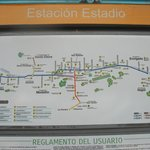 STATION ESTADIO TWO BLOCKS AWAY