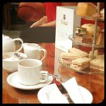 My afternoon tea. Delicious - this was for 1 person!