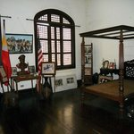 The bedroom of General Douglas MacArthur in Tacloban, Leyte