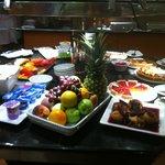 Buffet du soir - Desserts