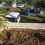 L'autre vue de la terrasse (camping)