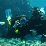 the wonderfull red sea with my fiance
