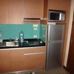 kitchenette deluxe suite