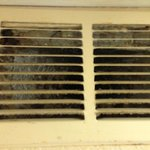 uncleaned air vent