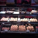 Selection of pastries..