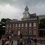 Independence Hall , an easy walk from hotel.