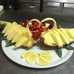 cuor d'ananas e fragole