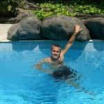piscine de l'ètablissement,agrèable après une excurtion