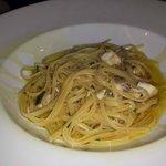 spaghetti con ricciola