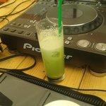 Awsome green cocktail
