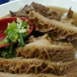 Beef Tripe with rice noodle
