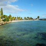 plage de l'hotel creole beach