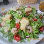 Rucola Salat, große Portion