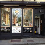 The new frontage.