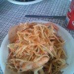 frittura di gamberi e calamari