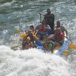 Rafting with Sands on the Snake River
